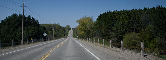 Highway 50 Between Bolton And Alliston