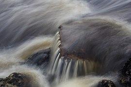 Long expo waterfall Danska fall, Hamstad Sweden.jpg