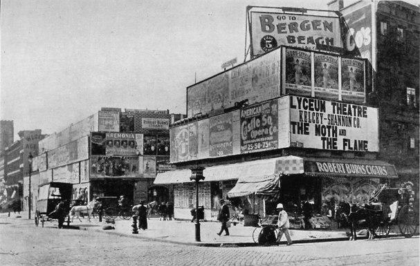Longacre Square, New York City, 1898