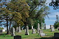 Looking SE across section D 02 - Glenwood Cemetery - 2014-09-14.jpg