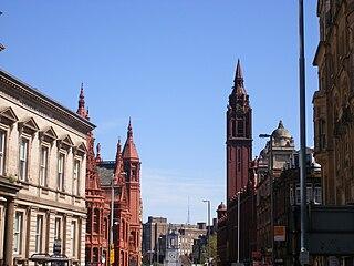 Corporation Street, Birmingham street in central Birmingham, England