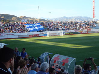 Estadio Francisco Artés Carrasco - Image: Lorca Villarreal B 1