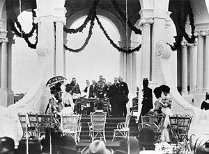 John Hope, 7th Earl of Hopetoun - Lord Hopetoun takes the oath of office as the first Governor-General of Australia