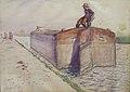 Lothar von Seebach-Péniche de l'Ill.jpg