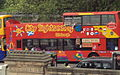 Lothian Buses open top tour bus Dennis Trident Plaxton President City Sightseeing livery, 14 June 2010.jpg