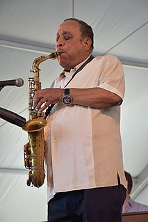 Lou Donaldson American saxophonist