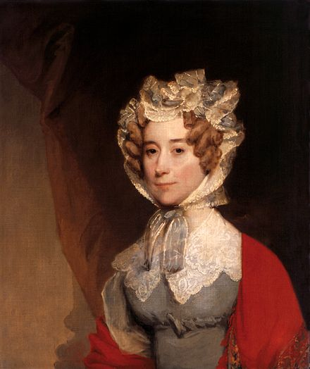 Gilbert Stuart Portrait of Louisa Adams (1821-26) Louisa Catherine Johnson Adams by Gilbert Stuart, 1821-26.jpg
