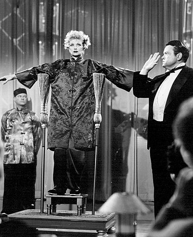 Lucille Ball Orson Welles I Love Lucy 1956.jpg