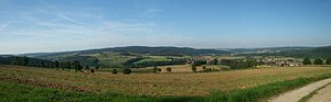 Ludwigsau - View over parts of the community of Ludwigsau