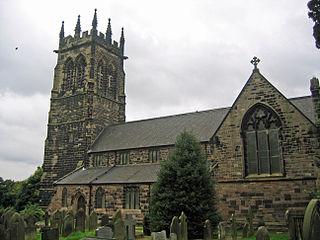 St Marys Church, Lymm Church in Cheshire, England