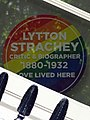 Lytton Strachey Critic & Biographer 1880-1932 Love Lived Here.jpg