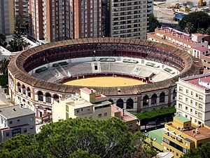 Plaza de toros de La Malagueta - The bullring at Málaga