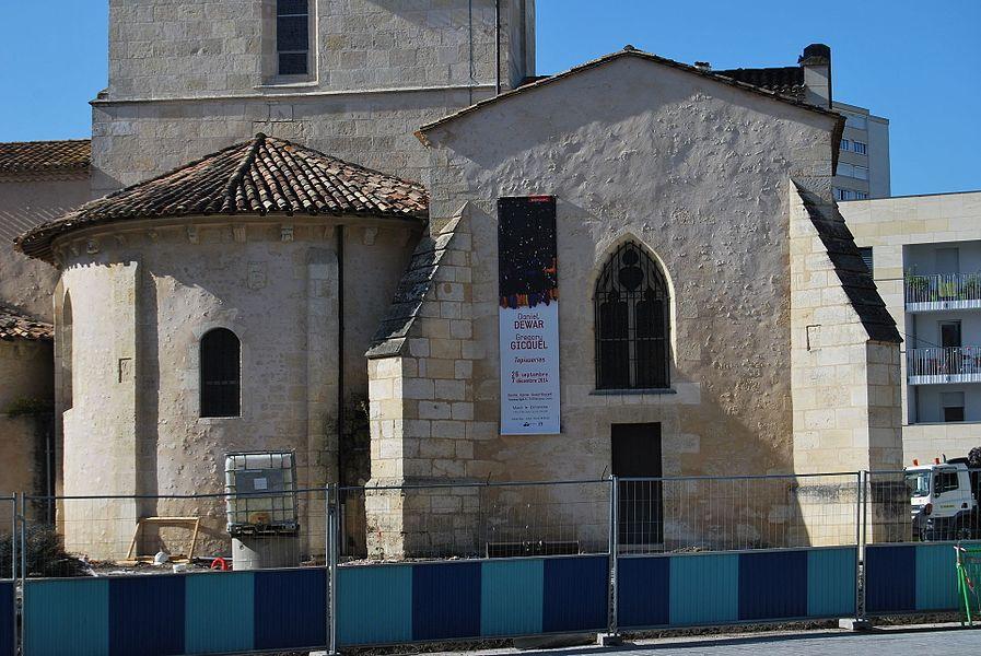 Ancienne église romane St Vincent de Mérignac