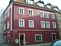 Měšťanský dům , Hradební 1, Cheb.JPG