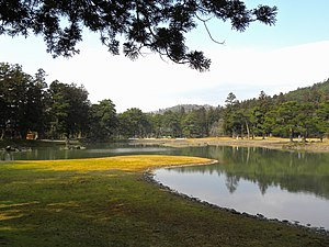 Historic Monuments and Sites of Hiraizumi - Image: Mōtsū ji Suhama