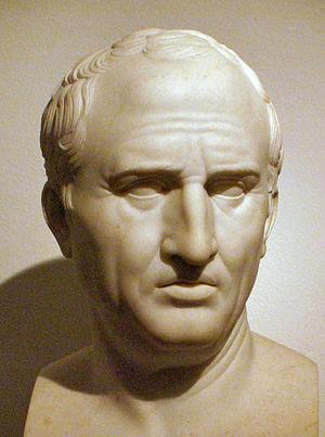 Marcus Tullius Cicero, by Bertel Thorvaldsen a...