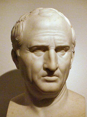 Busto di Cicerone presso i Musei Capitolini
