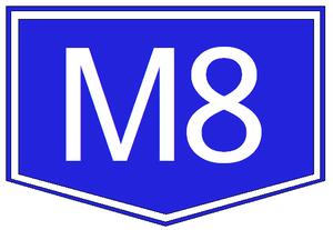 M4 motorway (Hungary) - Image: M8 autopalya