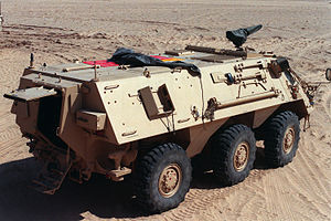 TPz Fuchs - Image: M93 Fox rear q