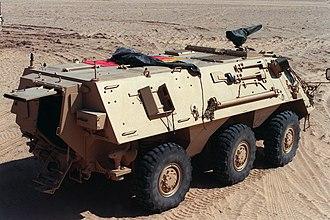 TPz Fuchs - Image: M93 Fox rear q