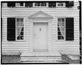 MAIN ELEVATION, DETAIL OF DOORWAY - Schuyler House, Saratoga Springs, Saratoga County, NY HABS NY,46-SAR,3-3.tif