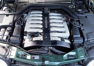 Mercedes-Benz M120 engine - Image: MB M120 E60 VA 1991 300kw 600SEL