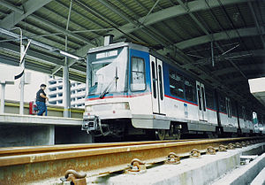 Tatra RT8D5 - Image: MRT 3 Train Magallanes 1