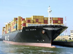 MSC Rania in lock p2, at Port of Antwerp, Belgium 25-Jan-2005.jpg