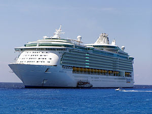 Passenger ship - A cruise ship, Freedom of the Seas