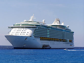 MS Freedom of the Seas - Freedom of the Seas off the coast of Cozumel, Mexico on her maiden voyage in 2006.