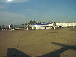 Mazatlán International Airport - View of Concourse B.