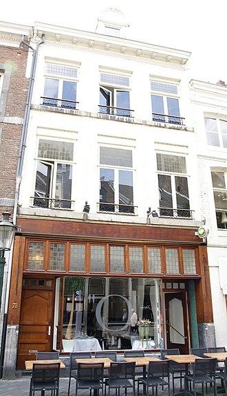 Wyck (Maastricht) - Image: Maastricht rijksmonument 27883 Rechtstraat 76 20100529