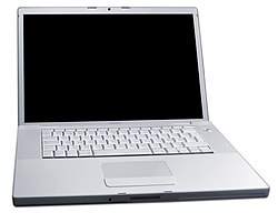 The MacBook Pro is the first Mac notebook to use an Intel processor. It was released at Macworld 2006.