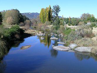 Macdonald River (Bendemeer) - Macdonald River at Bendemeer