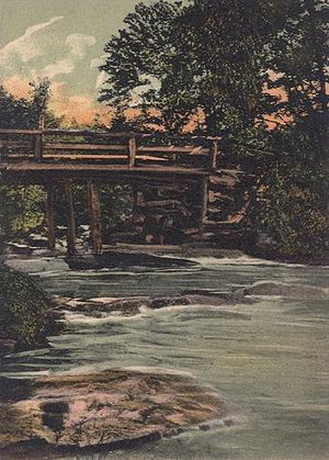 Farmington, New Hampshire - Mad River Bridge in 1909