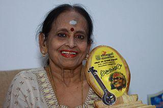 P. Madhuri Indian singer