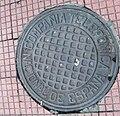 Madrid manhole cover compania telefonica nacional de espana.jpg