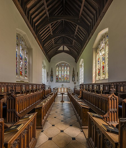 Inside the chapel Magdalene College Chapel, Cambridge, UK - Diliff.jpg