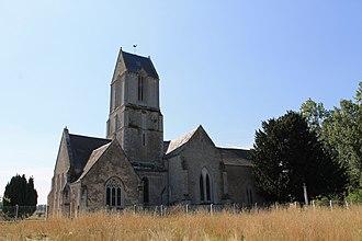Magny-en-Bessin - The church in Magny-en-Bessin