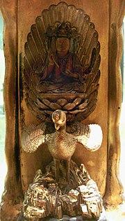 Mahamayuri statue