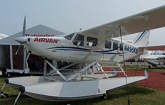 GippsAero GA8 Airvan - GA-8 with floats