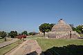 Main Walkway and Stupa 3 - Buddhist Monuments Site - Sanchi Hill 2013-02-21 4535.JPG