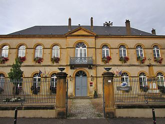 Ancy-Dornot - The town hall in Ancy