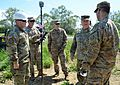 Major General Charles Gable visits Alabama Army National Guard Engineers in Romania 160607-A-CS119-002.jpg