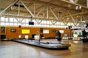Malmö Airport - Baggage reclaim area