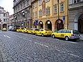 Malostranské náměstí, taxistanoviště (01).jpg