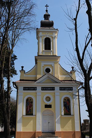 Monastery of the Holy Trinity, Kikinda - Monastery church