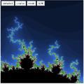 Mandelbrot java applet.png