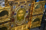 Mandylion icon in Sretensky Monastery (Moscow) 01.png