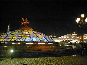 Manezhnaya Square, Moscow
